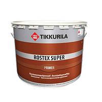 Противокоррозионный грунт серый Rostex Super Tikkurila 1 л.