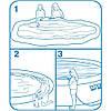 Надувной семейный бассейн Easy Set Intex , фото 3