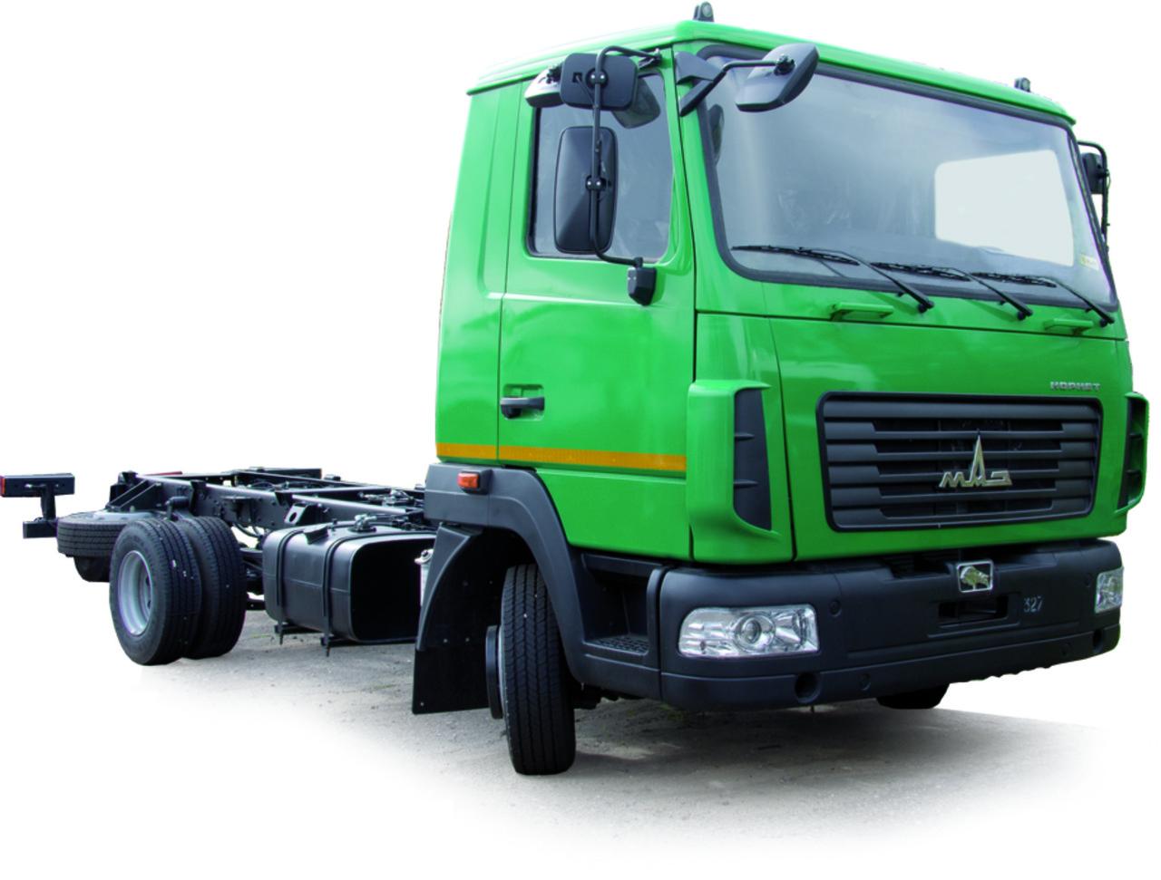 Шасси МАЗ 4371V2-550-000