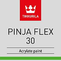 Эмаль акриловая TIKKURILA PINJA FLEX 30 для древесины,транспарентная FCL 18л.