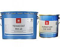 Эмаль эпоксидная TIKKURILA TEMACOAT RM40 TVH химстойкая + отвердитель( 008 5600) 2,8л