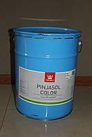 Лесирующий  лак -антисептик для дерева 3 в1 Пиньясол  PINJASOL Tikkurila 18л