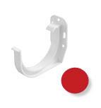 Кронштейн желоба стальной водосточной системы Марлей (Marley) СONTINENTAL 125 мм красный