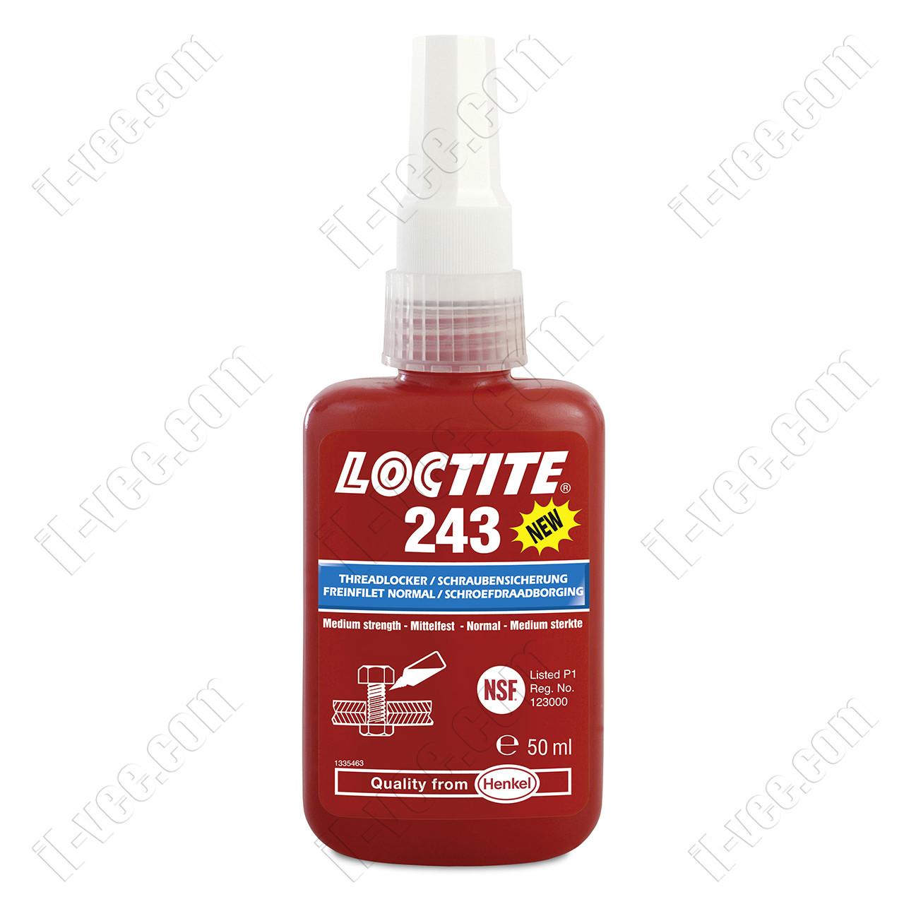 Резьбовой фиксатор Loctite 243, 50мл.