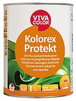 Бесцветное пропиточное средство для дерева Kolorex Protekt  Vivacolor 1 л.