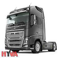 Гидравлика  Hyva на тягач Volvo с алюминиевым баком