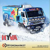 Гидравлика  Hyva на КАМАЗ с пластиковым баком