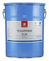Противокоррозийная грунтовка для черных металлов полуматовая Temaprime EUR TVH 18л., фото 1
