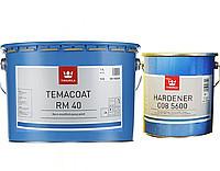 Эмаль эпоксидная TIKKURILA TEMACOAT RM40 TCH химстойкая +отвердитель (008 5600)  9,2л - КолорБуд в Харькове