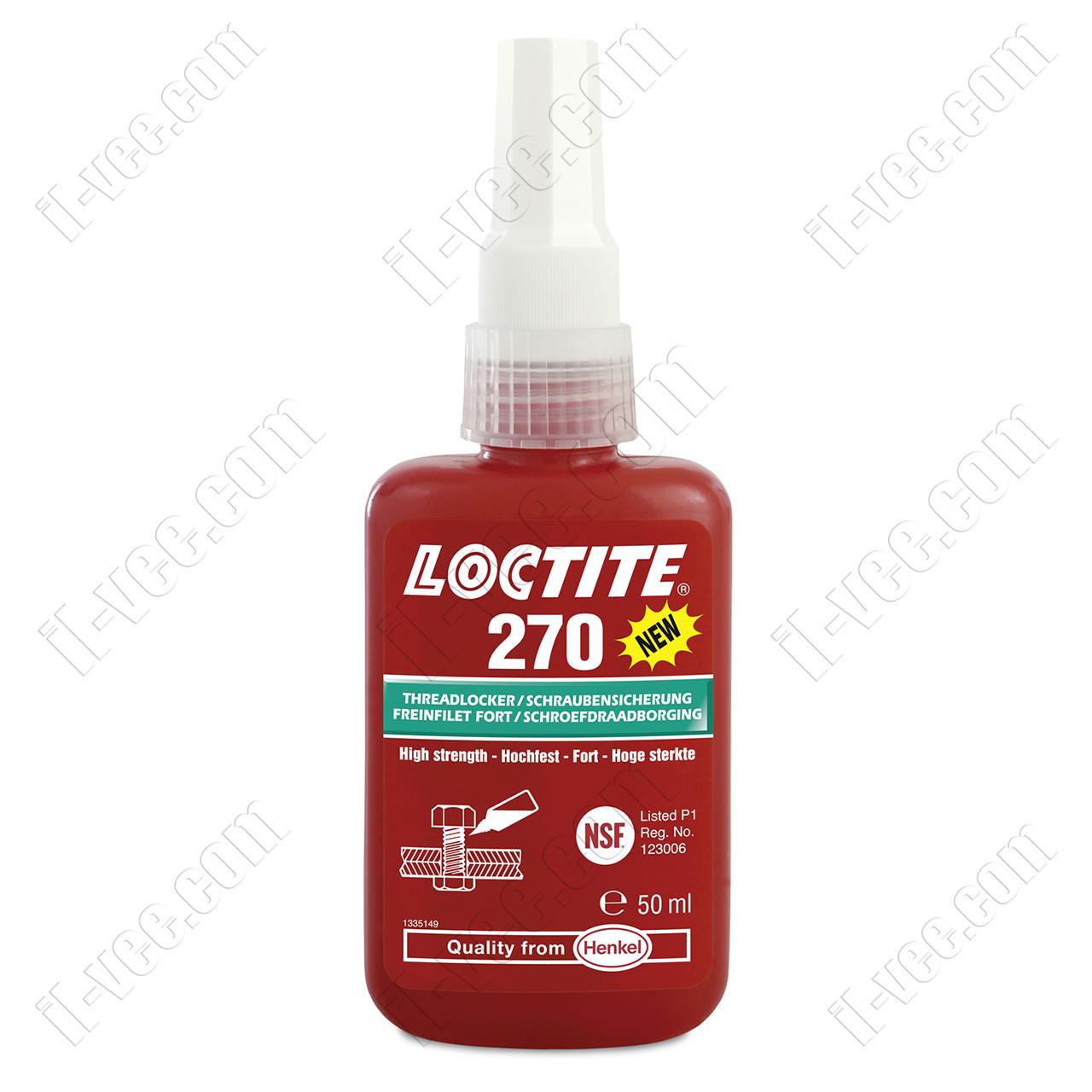 Резьбовой фиксатор Loctite 270, 50мл
