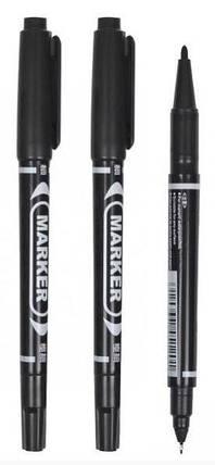 Маркер-ручка 2 в 1, черный, фото 2