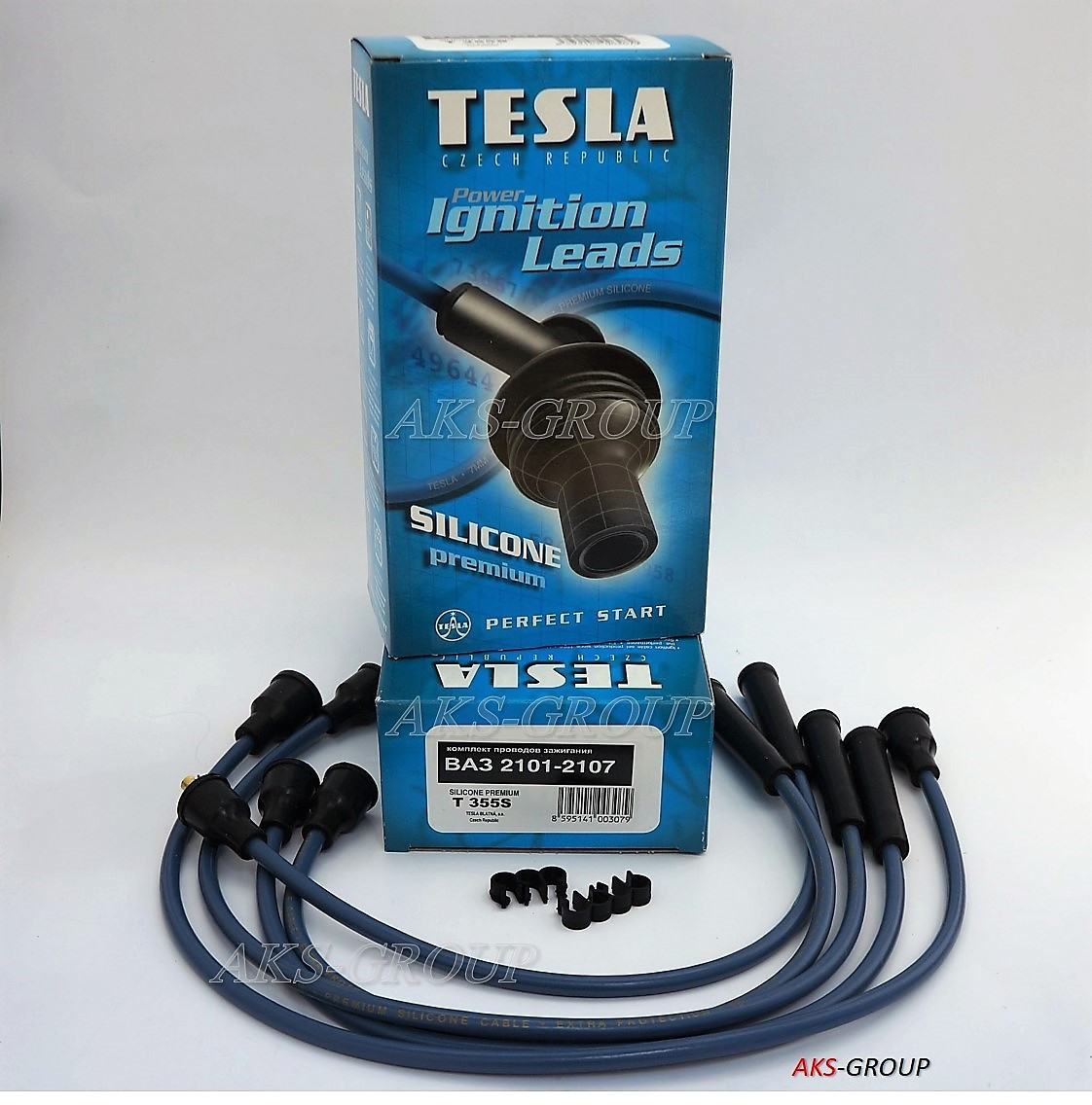 Tesla TS T355S на ВАЗ 2101-07 - провода зажигания силиконовые