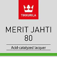 Лак полиуретановый TIKKURILA MERIT JAHTI 80 для древесины, 3л.