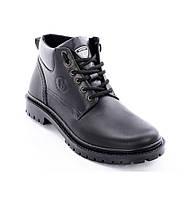 Ботинки кожаные мужские 048ч 41