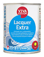 Лак полуматовый для внутренних и наружных деревянных поверхностей  Lacquer Extra  Vivacolor полуматовый, 2.7