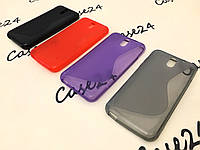 Силиконовый чехол Duotone для НТС Desire 610 (4 цвета)