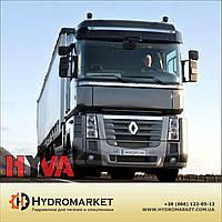 Гидравлическая система Hyva на Рено с пластиковым баком