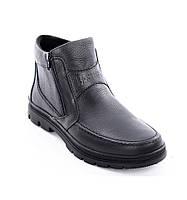 Ботинки кожаные мужские 072ф 42