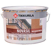 Краска фасадная  силиконмодифицированная   Novasil Tikkurila 9 л. MRA, 9