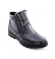 Ботинки кожаные мужские 072ч 42