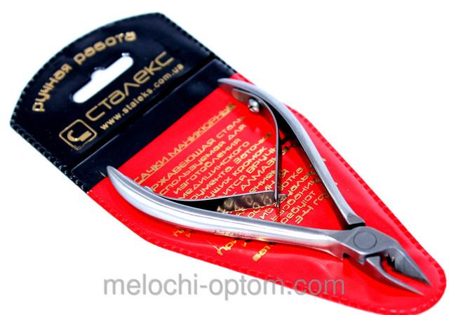 Кусачки маникюрные СТАЛЕКС (КМ-05) для вросшего ногтя