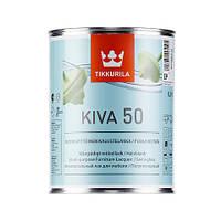 Лак для мебели  Кива полуглянцевый Тиккурила ( Kiva Tikkurila ) 2,7 л