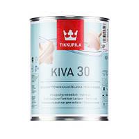Лак для мебели  Кива полуматовый Тиккурила ( Kiva Tikkurila ) 0,9 л