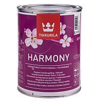 Матовая краска для стен и потолков Гармония  Тиккурила ( Harmony Tikkurila  ) база С 0,9л
