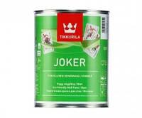 Матовая акрилатная краска для стен Joker Tikkurila база С  2,7 л