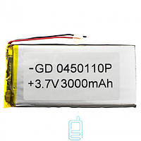 Внутренний Аккумулятор 04*50*110 (3000 mAh 3,7V) AAA класс