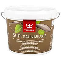 Состав для защиты стен и потолка в бане и душевой Supi Saunasuoja Tikkurila колеруемый   2,7 л