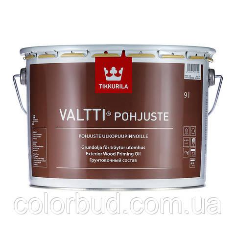 Грунтовочный состав для дерева Валти праймер  Valtti Primer Tikkurila бесцветный 2,7 л. - КолорБуд в Харькове