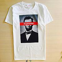 Футболка Supreme Lincoln | Бирки ориг. | Наши фотки