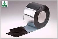 Лента гидроизоляционная Plastter ST 10 х 1000см алюминий