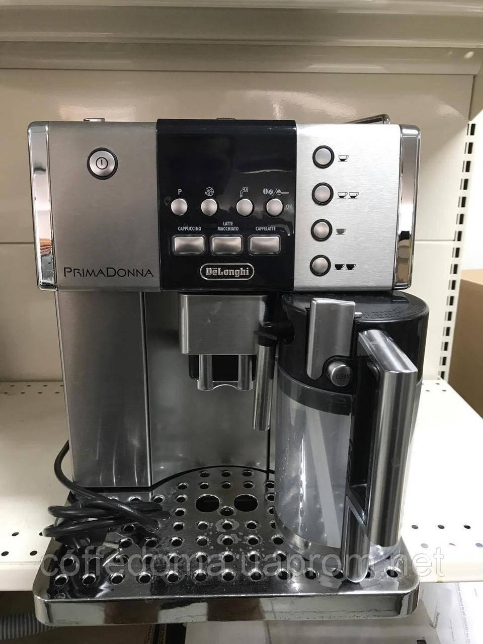 Delonghi Prima Donna ESAM 6600 автоматическая кофемашина с автокапучинатором
