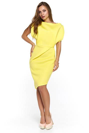 Нарядное платье из неопрена Альта желтое  продажа, цена в Харькове ... 48b1a0c6028