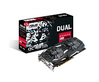Видеокарта ASUS Radeon RX 580 Dual OC 4GB (DUAL-RX580-O4G)
