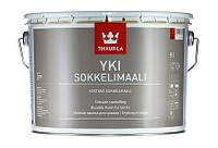 Краска для цоколя и шифера щелочестойкая   YKI Tikkurila   матовая , база А  2,7л.