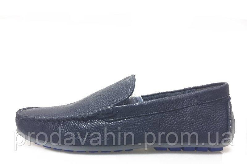 c267487232f Мужские мокасины Clarks Classic Moccasin Blue M кожаные. мужская обувь