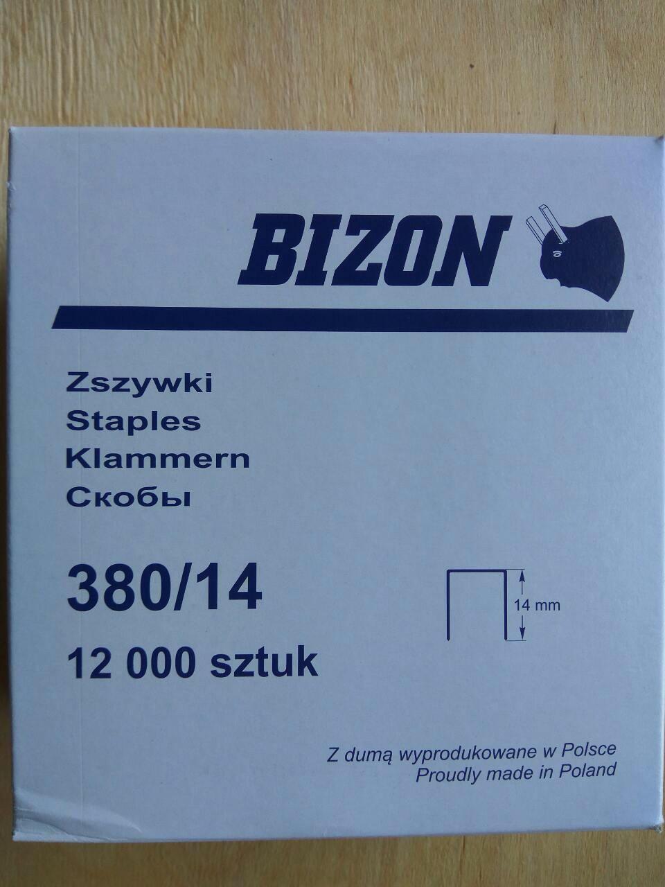 """Скоба """"BIZON"""" 380/14"""