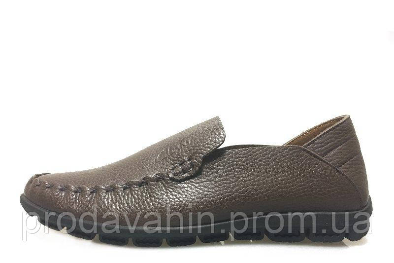 Мужские мокасины Clarks Casual Moccasin Brown M кожаные. мужская обувь,  интернет магазин недорогой обуви a57d2f6df3b