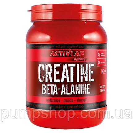 Креатин+бета-аланін ActivLab CREATINE BETA ALANINE 300 г, фото 2