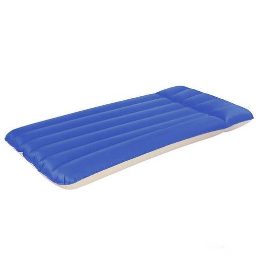 Односпальный надувной матрас матрац Bestway 67014, синий, 191 х 74 х 22 см