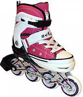 Роликовые коньки раздвижные Zelart Sport  Z-823P р 38-41, 34-37