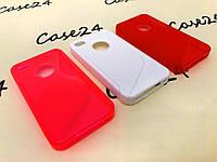 Силиконовый чехол Duotone для Apple iPhone 4 / 4S (3 цвета)