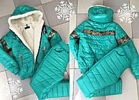 Детский зимний спортивный костюм №8-619