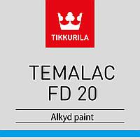 Эмаль алкидная TIKKURILA TEMALAC FD 20 полуматовая антикоррозионная  9л