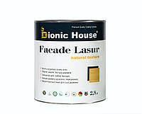 Масло террасное для дерева Terras Oil Bionic House с добавлением пчелиного воска грязе-водотталкивающее 2,8 л