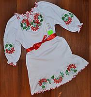 """Плаття-вишиванка """"Калинка"""" (116 см)"""