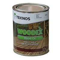 Масло террасное для дерева  атмосферостойкое TEKNOS WOODEX WOOD OIL 0,9